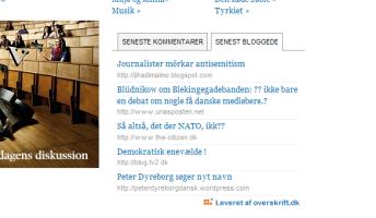 BlogSynergi hos Information.dk