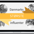 Danmarks største influencers